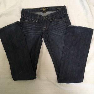 Lucky Brand Jeans Size 0/25 Zoe Bootcut